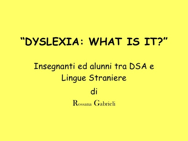 Lingua inglese DSA | PAIDEIA 2.0 - Officina per la ... Cantando In English